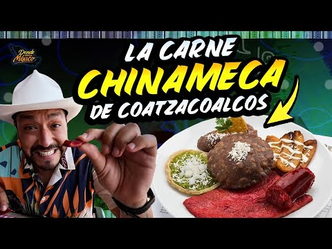 Comí la CARNE CHINAMECA en Coatzacoalcos, Veracruz