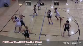 Women's Basketball: CSUN vs Claremont thumbnail