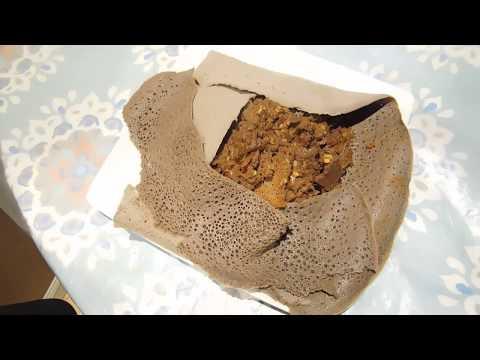 How to make Ethiopian Enjera Firifir
