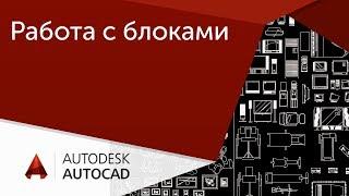 [Урок AutoCAD] Работа с блоками в Автокад.  Отражение, выравнивание, размер.