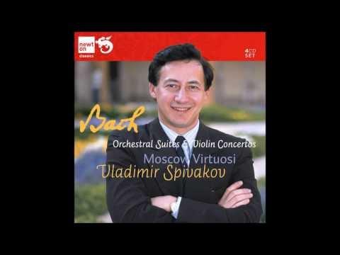 Concerto BWV 1060 Allegro: Vladimir Spivakov & Moscow Virtuosi