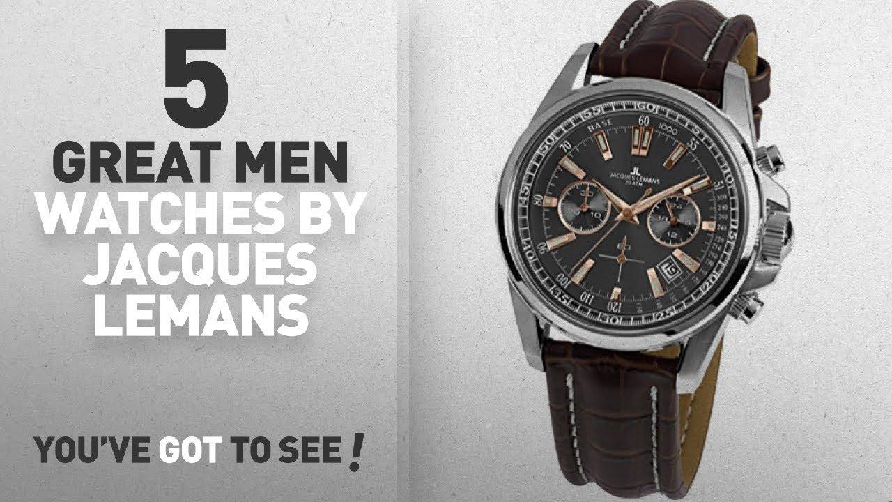 dc6a5dbd39756b Top 10 Jacques Lemans Men Watches   Winter 2018    Jacques Lemans ...