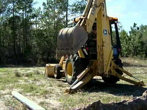 AFQTP - BACKHOE OPERATIONS - EXCAVATE LOAD AND BACKFILL MATERIAL