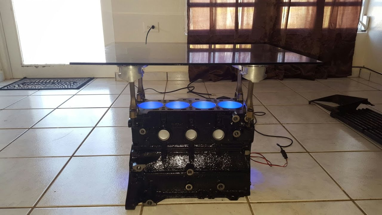DIY MOTOR COFFEE TABLE