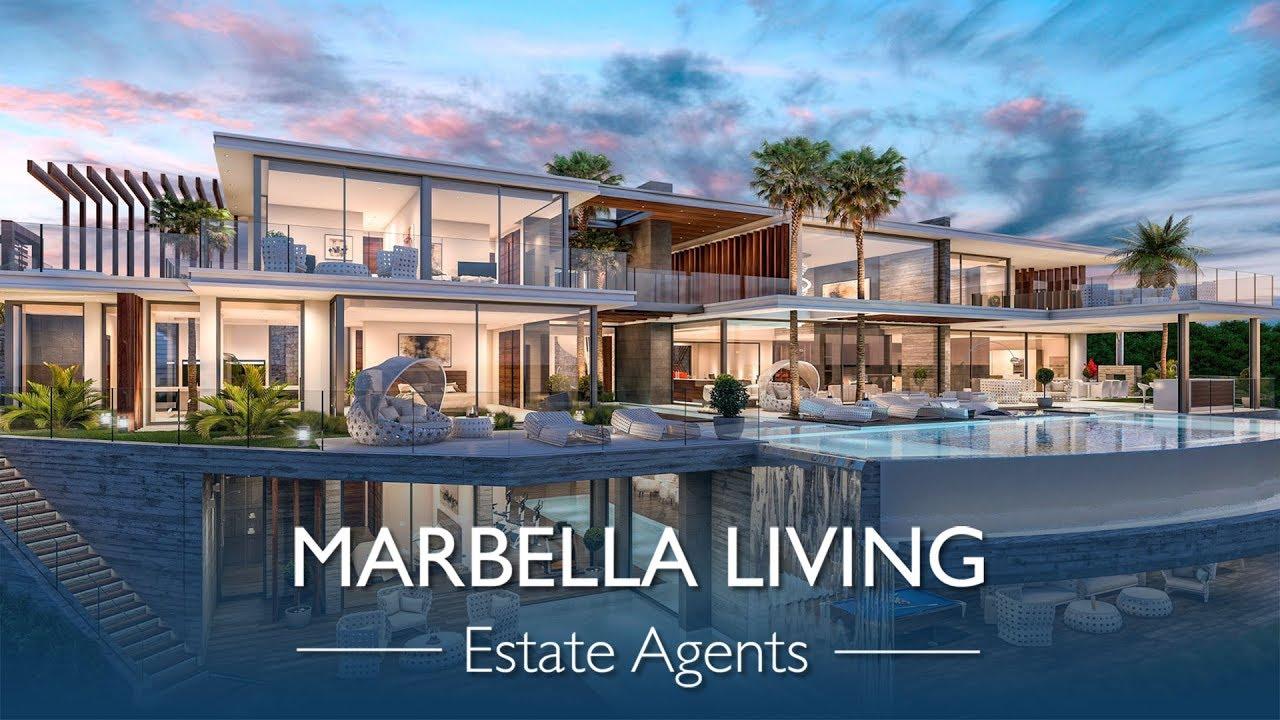 Marbella Living 7 Bedroom 9 Bathroom Villa For Sale In La Zagaleta Benahavis Youtube