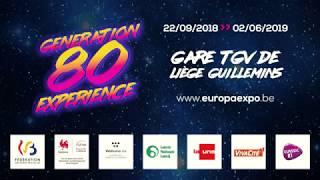Expo GENERATION 80 Expérience Liège Guillemins