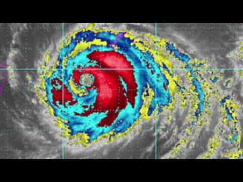 Super Typhoon Maria toward China