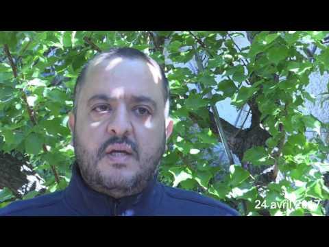 Réaction de Salim Laïbi (LLP) au résultat du premier tour de la présidentielle 2017