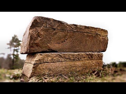 Lifting Giant Stones - Pyramid Building Tilt-Up Method