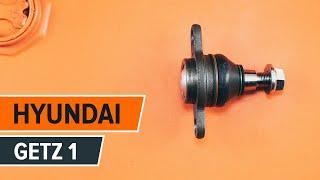 Cum se schimba suport sferic pe HYUNDAI GETZ 1 TUTORIAL | AUTODOC