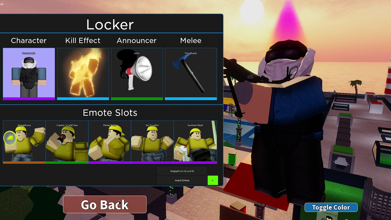 Acting Toxic In Arsenal Roblox Arsenal Youtube