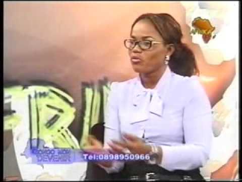 PAULETTE ELONGA ET SON MAGAZINE CONGO MON DEVENIR