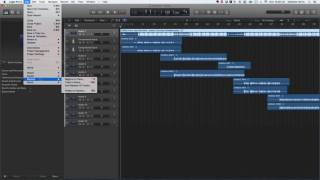 How to export files out of Logic Pro X