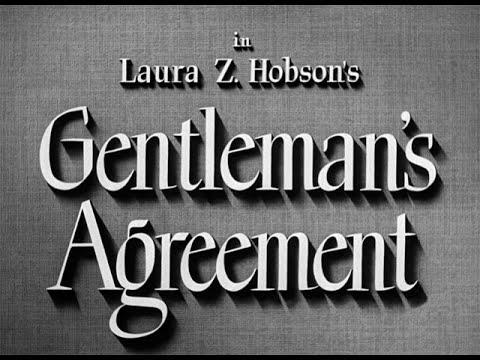 Download Gentleman's Agreement (1947)  Opening Scene