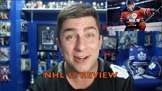NHL 18 REVIEW!!!