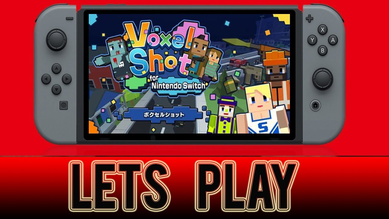 Voxel Shot Nintendo Switch Trailer Youtube