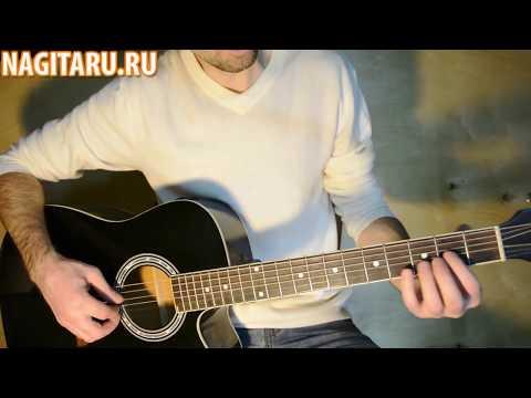 В ЛЕСУ РОДИЛАСЬ ЕЛОЧКА  - очень простая мелодия на гитаре! Разбор для новичков.