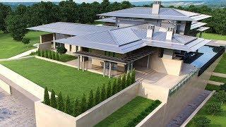 видео Проекты современных загородных домов. Выбор проекта загородного коттеджа. Каталог проектов домов.