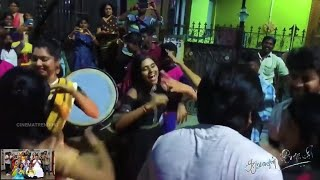 Saravanan Meenatchi Last Day Kuthu Dance Celebration Shooting Spot Video || VijayTv