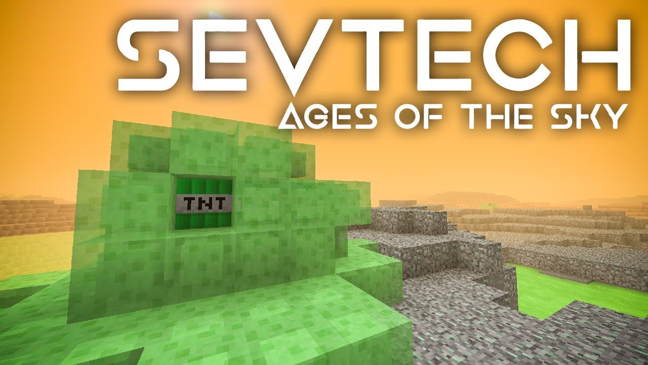 SevTech: Ages of the Sky Ep. 49 Saturn Boss Battle