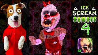 МОРОЖЕНЩИК 4 это Зомби ICE SCREAM 4 смешные моменты прохождение