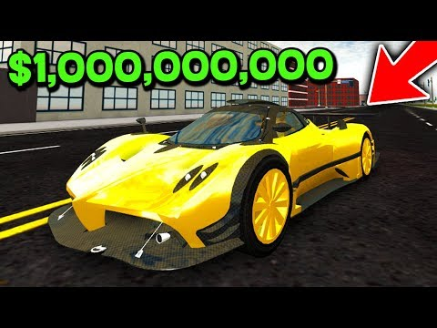 WORLDS MOST EXPENSIVE SUPERCAR! *ROBLOX ULTIMATE CAR SIMULATOR*