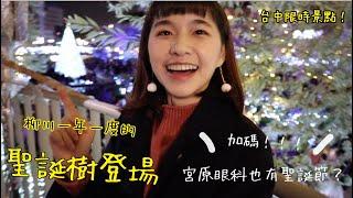 柳川一年一次的聖誕樹登場...︱宮原眼科也有聖誕節?
