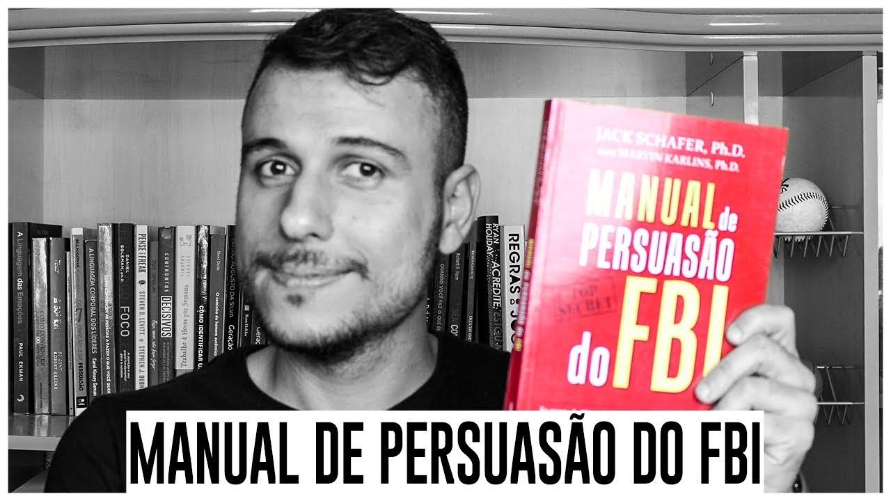 Manual de Persuasão do FBI | Livros de psicologia ...