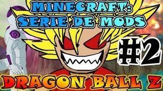 Minecraft | DRAGON BALL Z | Serie de MODS - Ep.#2 | HICE UN KAIOKEN SIN QUERER O.o
