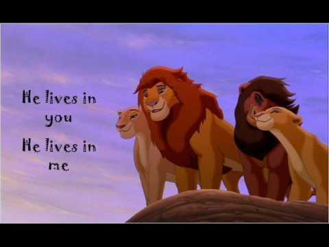 He Lives in You (with lyrics) - Lion King Karaoke
