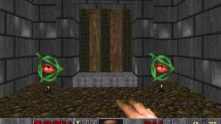 Doom II level 19, The Citadel: Keys and exit