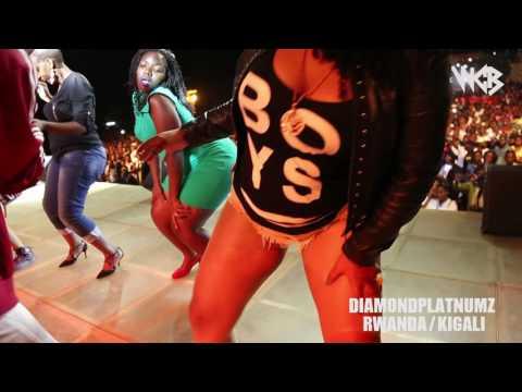 Diamond Platnumz - Live performance at Rwanda/kigali (part 3)
