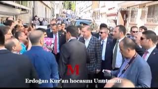 Erdoğan Kur'an hocası Kemal Hut'u Unutmadı