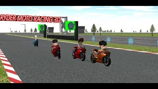 Paw Ryder Moto Racing 3D - paw puppy racing patrol games for kids