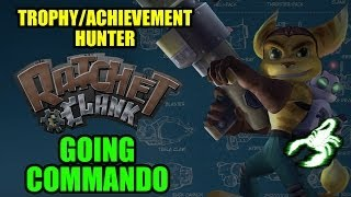 RATCHET & CLANK - Going Commando TROPHY
