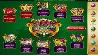 777 dragon Casino : 1h de jeu gratuite et 777$£€ - Testez-le!