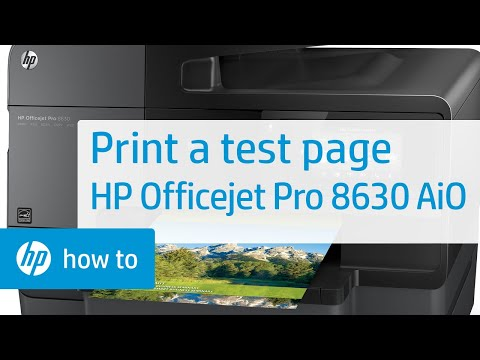 printing-a-test-page- -hp-officejet-pro-8630-all-in-one- -hp
