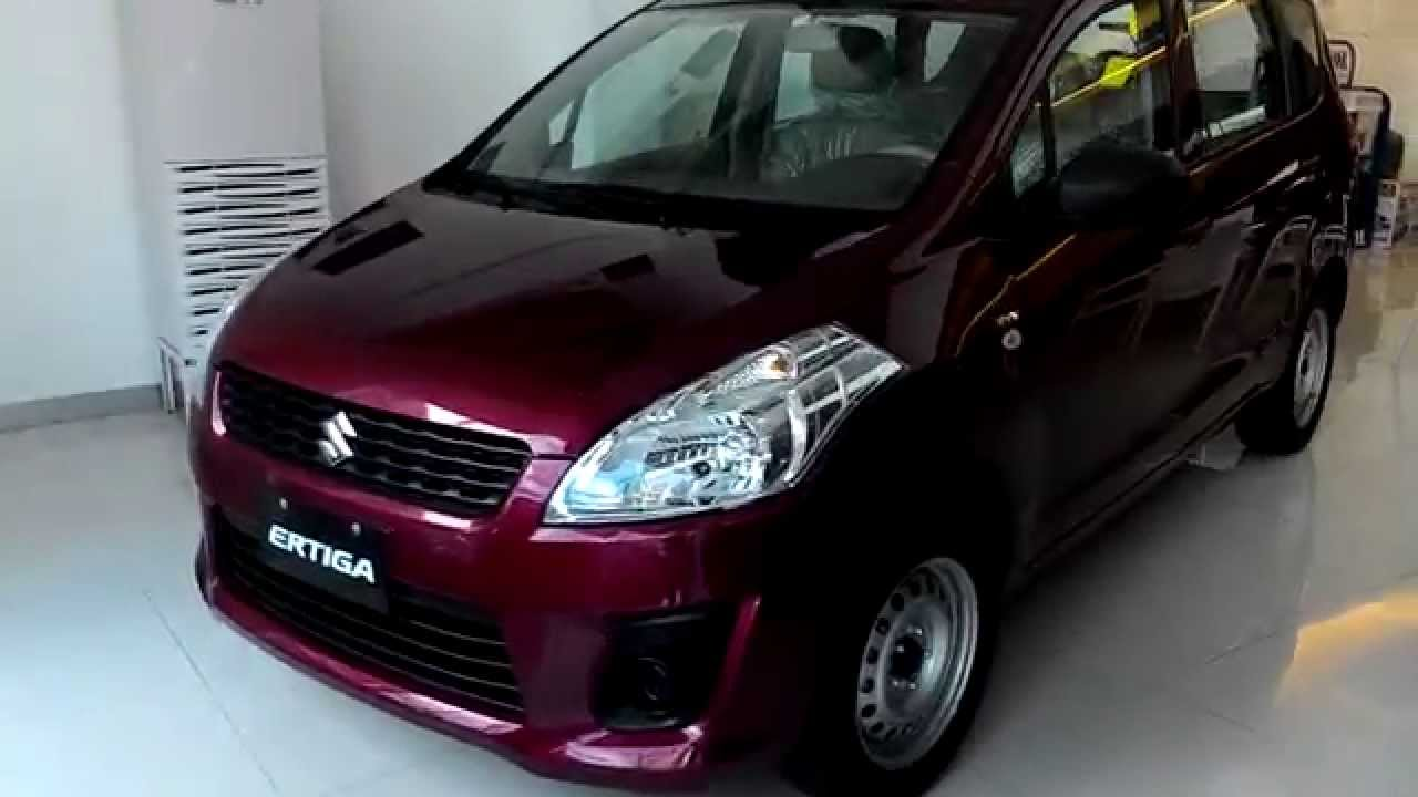 Suzuki Ertiga GA Review - Color Red - YouTube