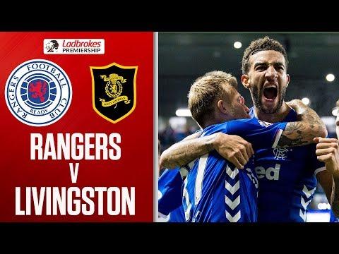 Rangers 3-0 Livingston   Gers Keep Pressure on Celtic!   Ladbrokes Premiership