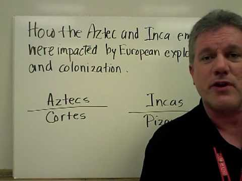 Europeans Conquer the Aztec and Inca Empires