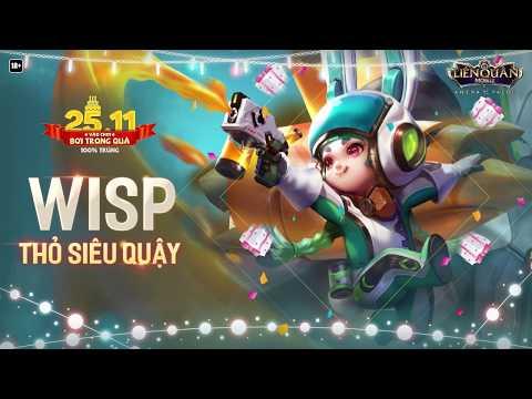 Chơi cùng Wisp Thỏ siêu quậy trong Vòng quay sinh nhật - Garena Liên Quân Mobile