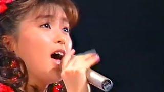 酒井法子さん 80年代ヒット曲 Noriko Sakai 「アニメ三銃士」オープニン...