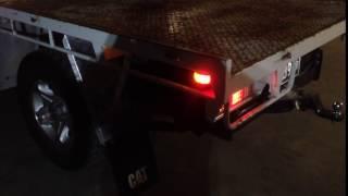 V8 landcruiser exhaust 3inch