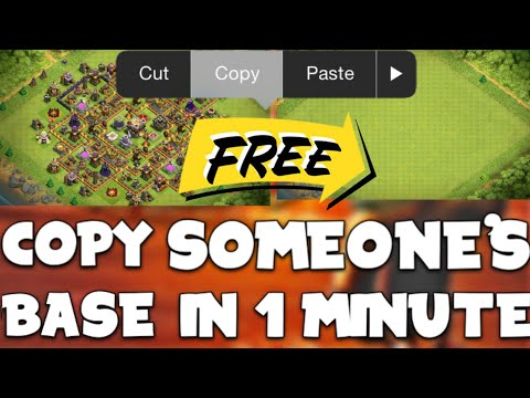 How To Copy Someones Base In Clash Of Clan | Copy Paste Any Base In 1 Minute