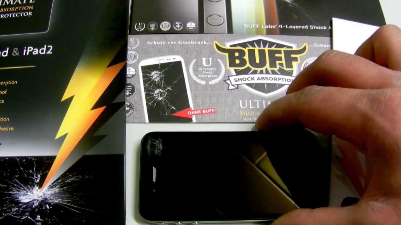 Iphone  Schutzfolie Test