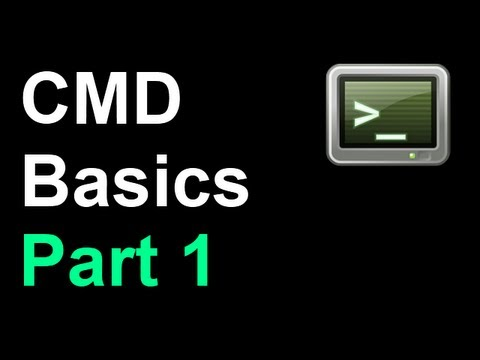Command Prompt Basics 1 - Introduction (Files & Directories)