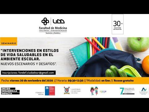 Seminario: Intervenciones en estilo de vida saludables en el ambiente escolar