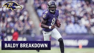 Baldys Breakdowns: Lamar Jackson's Record-Setting Running Performance