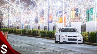 【BNR34】CHRISTMAS NIGHT   NISSAN R34 GT-R   YOKOHAMA MINATOMIRAI【R34 GTR】