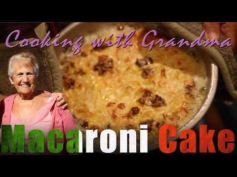 Macaroni Cake - Cooking with Barbara